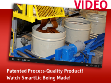 Patented Process-Quality Product! Click here to watch SmartLic being made!